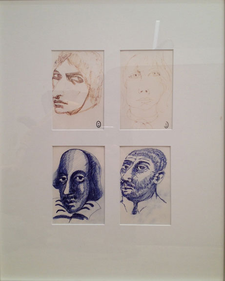 Four Portraits by Brett Whiteley