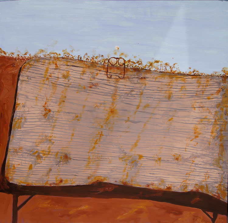 The Shearer's Mattress by John Olsen