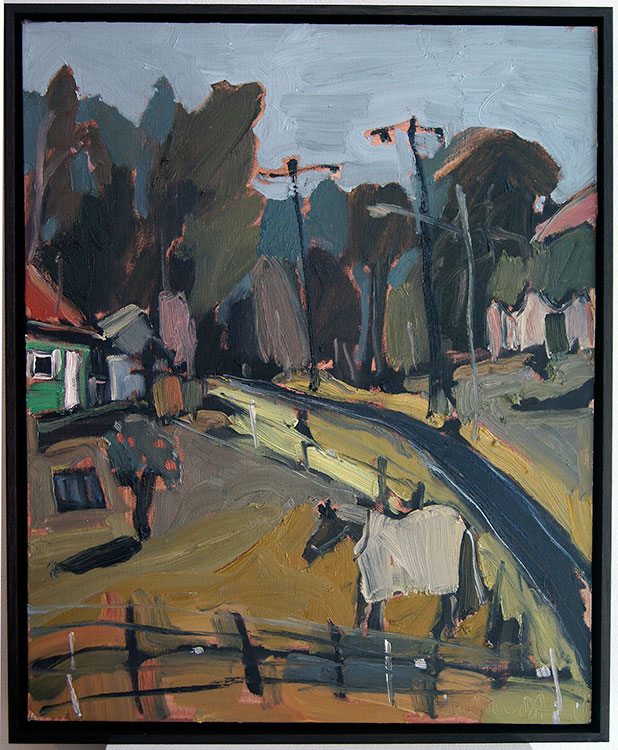 Carcoar Paddock by Matilda Julian at Olsen Gallery