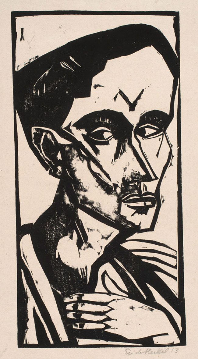Der Mann (The Man) by Erich Heckel
