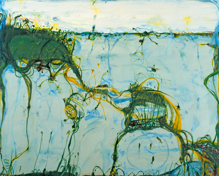 Spring Tide Sydney Harbour by John Olsen at Olsen Gallery