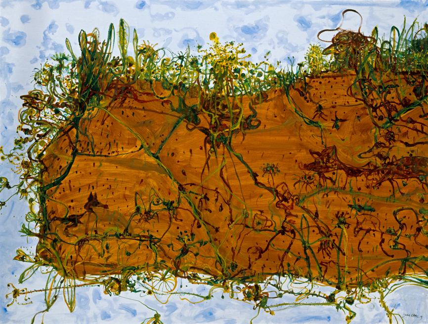 Lake Eyre 1975 by John Olsen at Olsen Gallery