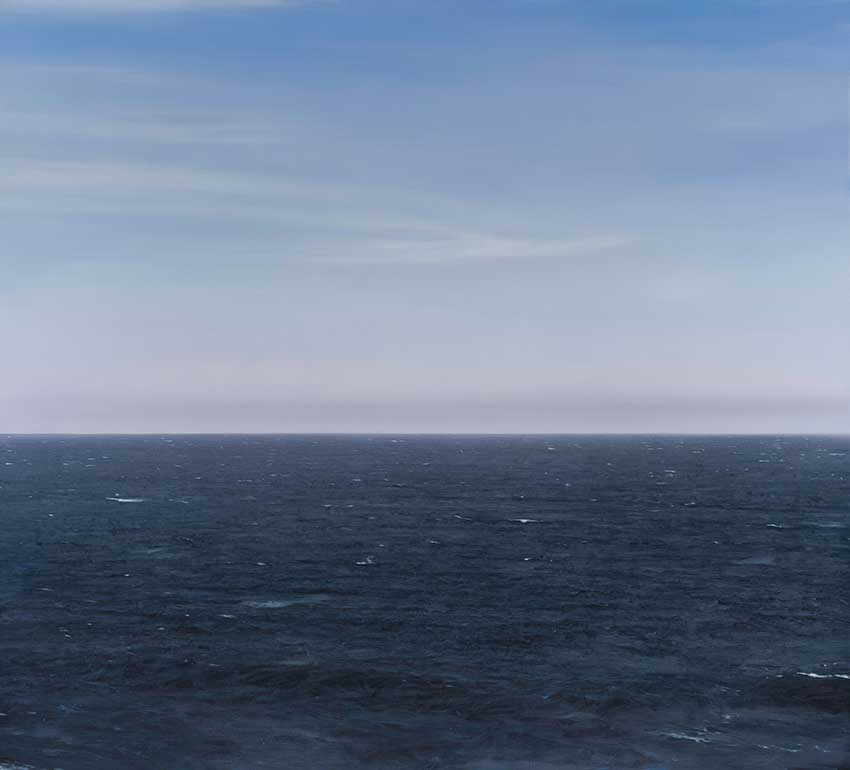 Ocean Altostratus Virga 2 by Chris Langlois
