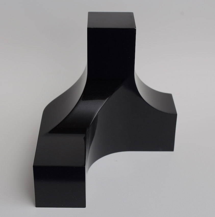Photo-Sculpture Collaboration with Stephen Ormandy (Black) by Nicholas Samartis