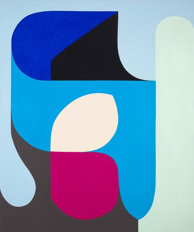 Moon Rise at Bondi by Stephen Ormandy at Olsen Gallery