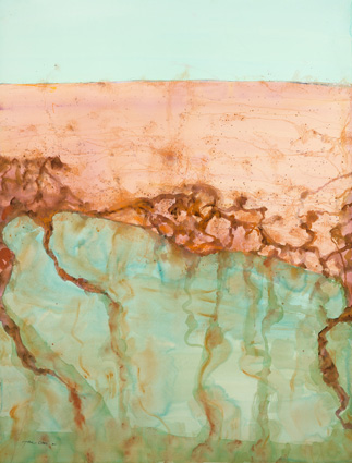 Lake Eyre - The Desert Sea II Olsen