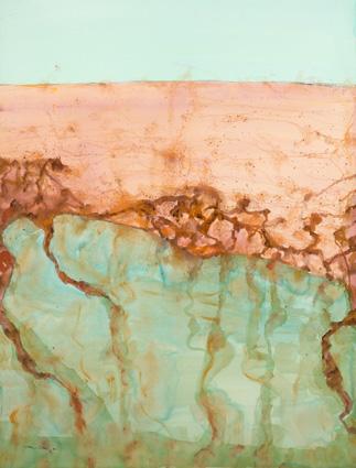 Mt Kenya by John Olsen at Olsen Gallery